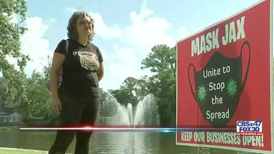 Jacksonville mom using yard signs to get neighbors to 'mask up'