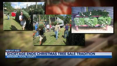 Jacksonville church not selling Christmas trees for first time in decades due to shortage