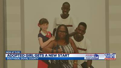 Family Focus: Adopted girl gets a new start