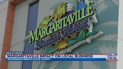 Local Jax Beach businesses welcome Jimmy Buffett's Margaritaville Beach Hotel