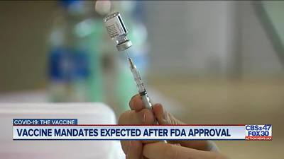 COVID-19 vaccine: Pfizer approval gives companies vaccine mandate protections
