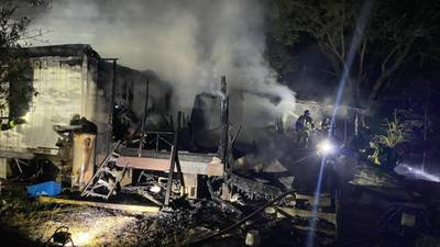 Photos: 2 killed in Clay County house fire