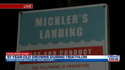 51-year-old man dies while competing in triathlon in Ponte Vedra Beach