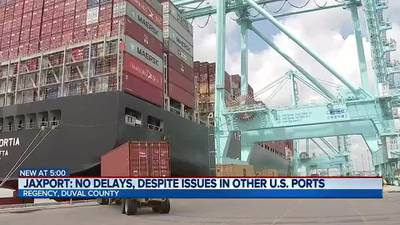JAXPORT thriving during pandemic, ready to accommodate more ships & containers