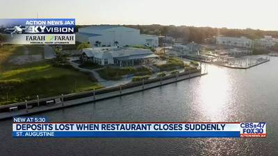 Deposits lost when restaurant closes suddenly