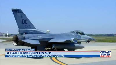 Former fighter pilot shares unimaginable mission from 9/11