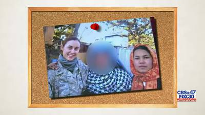 Family in hiding since U.S. withdrawal