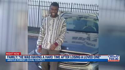 Family says man shot and killed by Jacksonville police was experiencing emotional distress
