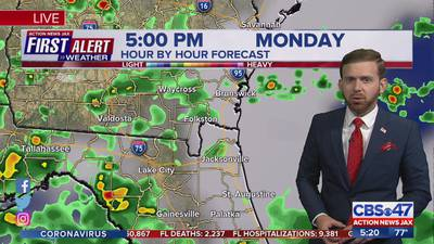 First Alert Weather: Tracking showers, storms, warming trend