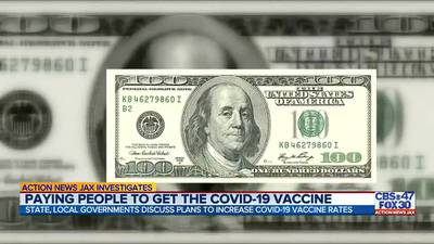 INVESTIGATES: Paying people to get the COVID-19 vaccine
