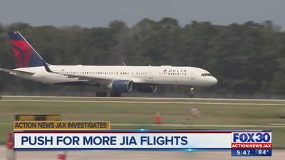 Action News Jax Investigates: Despite JIA's rapid growth, no nonstop flights to West Coast