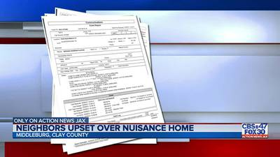 Middleburg father goes to extreme measures to blast what neighbors call a nuisance house