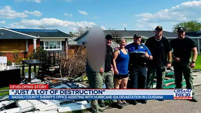 Nassau County deputies finish disaster tour in Louisiana after Hurricane Ida