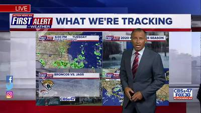 First Alert Forecast: Tue., Sept. 14th - Early Evening