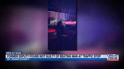 Former deputy found not guilty of any wrongdoing during violent traffic stop